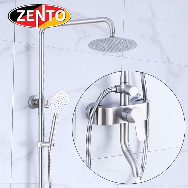Bộ sen cây nóng lạnh inox Zento SUS8104